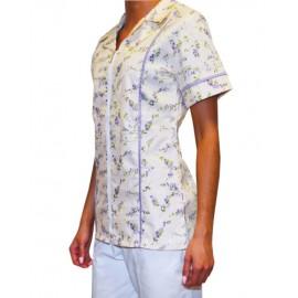 Pracovná košeľa - VZOR - levanduľa