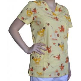 Pracovná košeľa - VZOR - kravičky