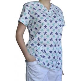 Pracovná košeľa - VZOR - morská hviezdica