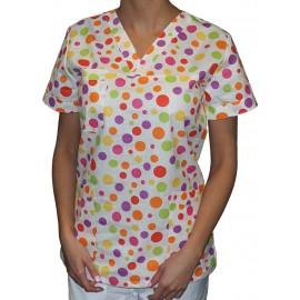Pracovná košeľa - VZOR - guličky